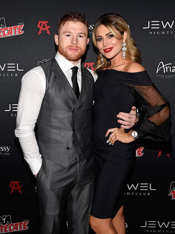 Canelo Alvarez Celebrates Victory at Official After-Fight Party at JEWEL Nightclub at ARIA Resort & Casino