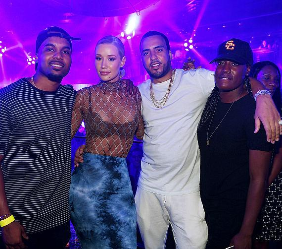 Iggy Azalea, French Montana and friends