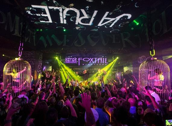 Ja Rule performs to a packed house at Foxtail Nightclub