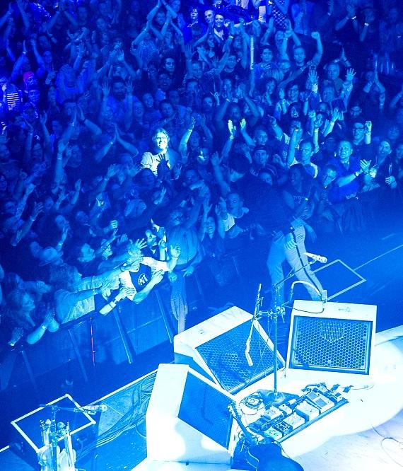 Jack White Performs to Sold Out Crowd in Brooklyn Bowl at The LINQ Promenade in Las Vegas