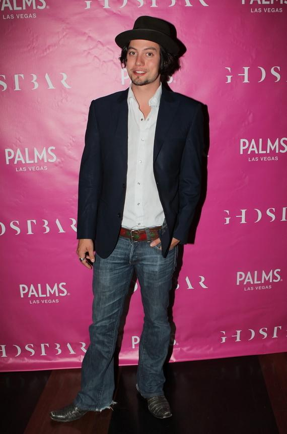 Jackson Rathbone arrives at Ghostbar at Palms Casino Resort.