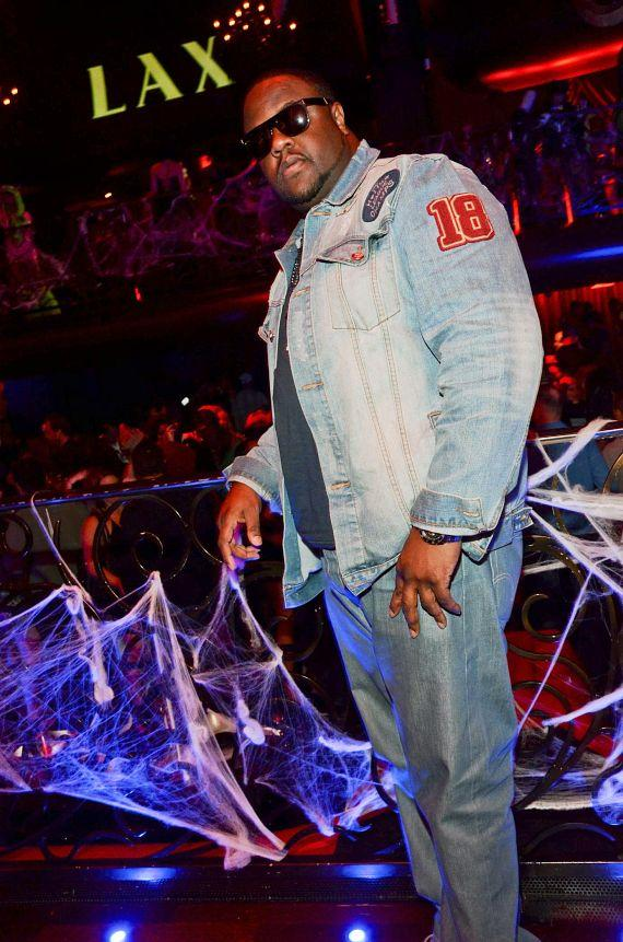 Jamal Woolard at LAX Nightclub