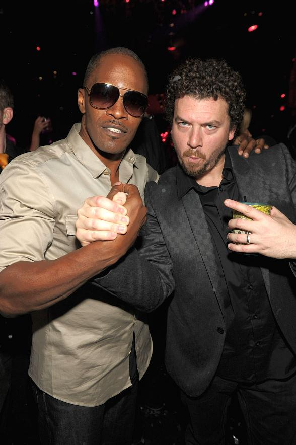 Jamie Foxx and Danny McBride at TAO Las Vegas
