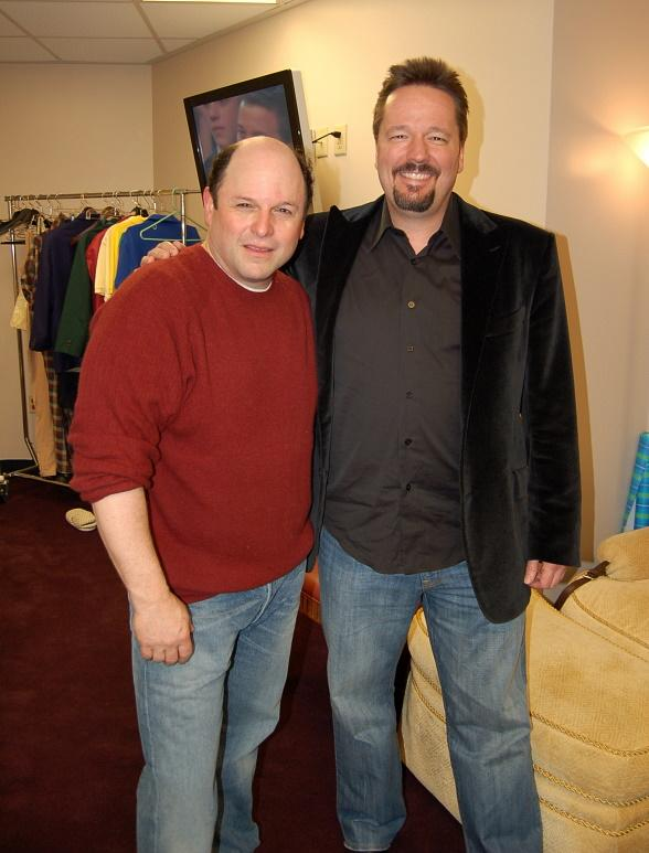 Jason Alexander and Terry Fator