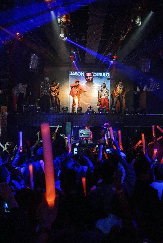 Jason Derulo Album Release Party at TAO