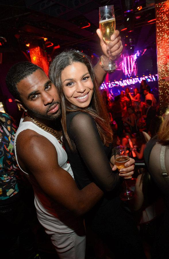 Jason Derulo and Jordin Sparks at TAO