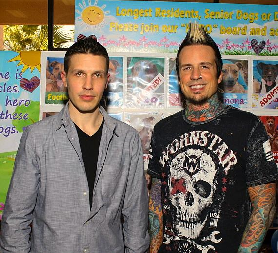 Jason Egan and Jeremy Spencer