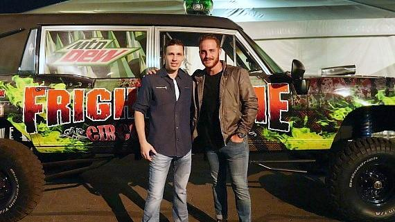 Vinny Ventiera visits Fright Dome