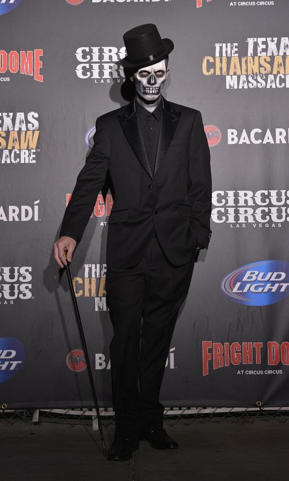 Jason Egan as the VooDoo Master of Ceremonies at the Afterlife Ball