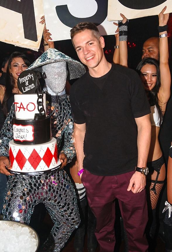 Jason Kennedy's Bachelor Party at TAO at The Venetian in Las Vegas
