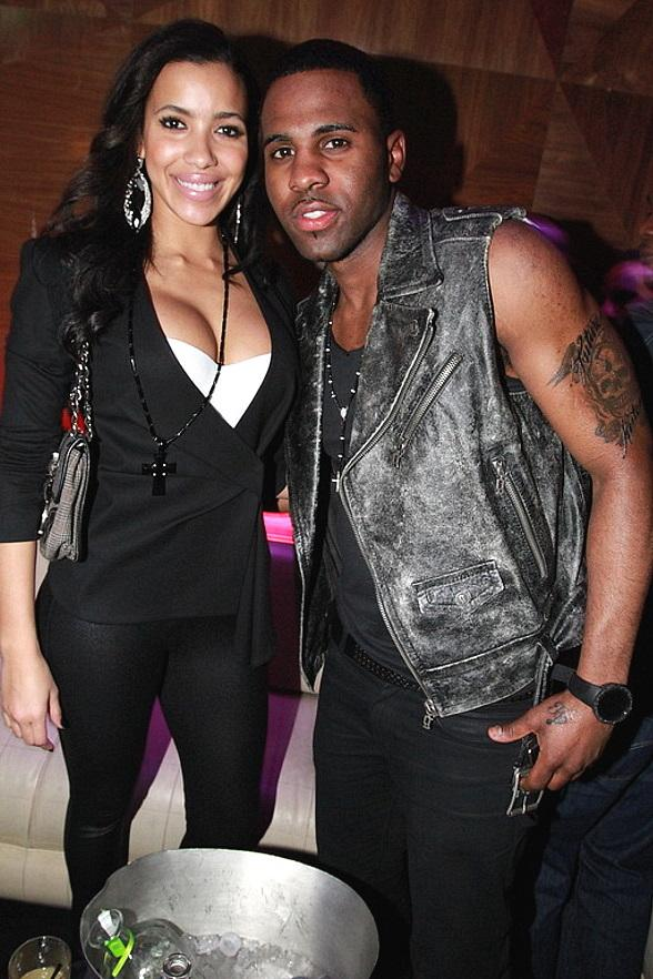 Julissa Bermudez and Jason Derulo at Vanity Nightclub