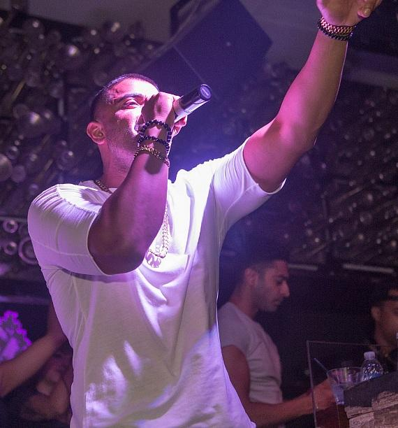 Jay Sean Performs at Hyde Bellagio in Las Vegas