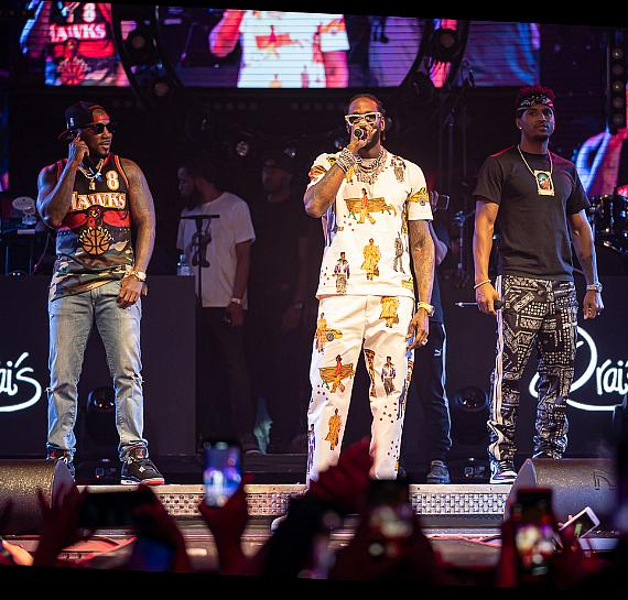 Jeezy, 2 Chainz and Trey Songz at Drai's Nightclub