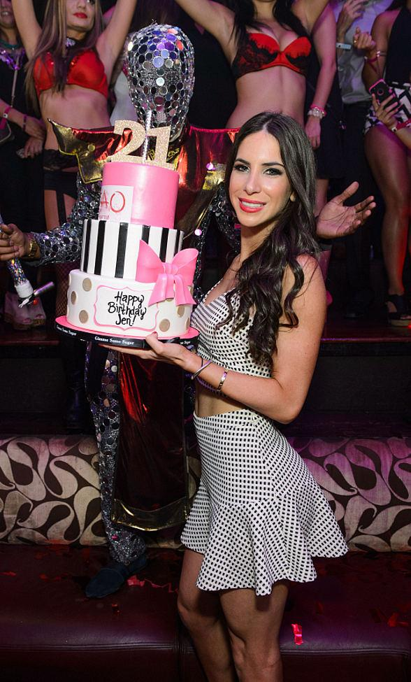 Instagram Star Jen Selter Celebrates 21st Birthday at TAO