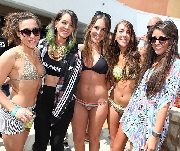 YouTube Sensation Jenna Marbles Hosts Ditch Fridays at Palms Pool & Dayclub
