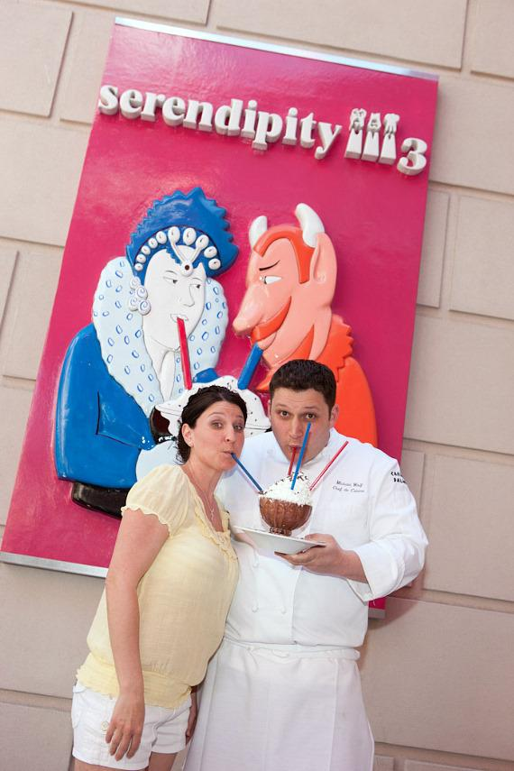 Jennifer Genovese with Chef Michael Wolf