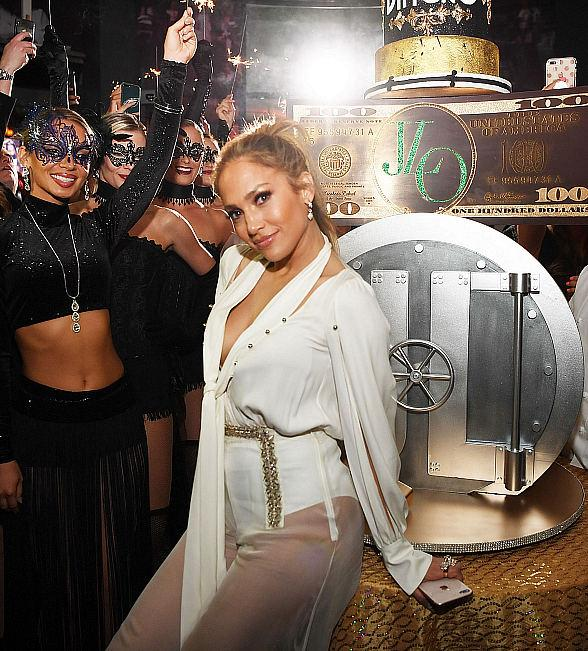 Jennifer Lopez and Wolfgang Puck Shine at Spago After Party Following Billboard Music Awards with Ashlee Simpson, Andy Cohen, DJ Khaled, Salt-N-Pepa, Sherri Saum