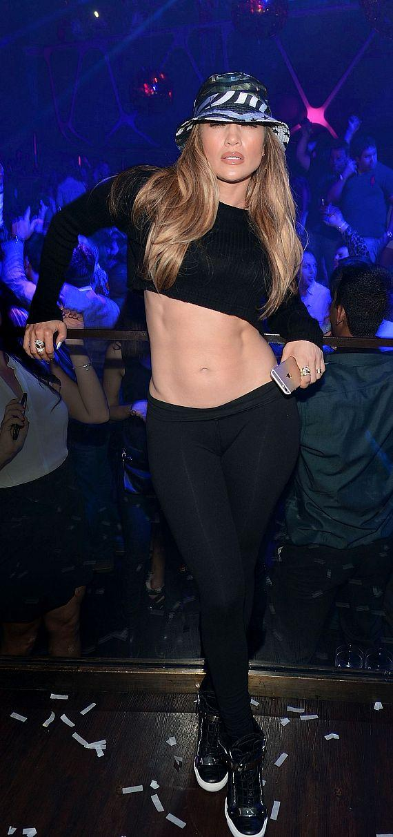 Jennifer Lopez at Hakkasan Nightclub