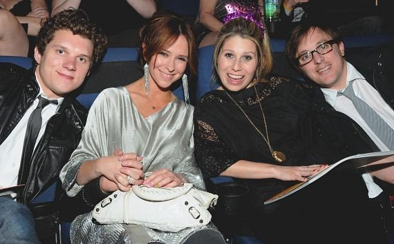 Alex Beh, Jennifer Love Hewitt, Ashton Dicke and AJ celebrate Aston's birthday at LOVE