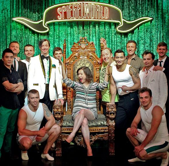 Film and Television Star Jennifer Tilly Attends ABSINTHE at Caesars Palace