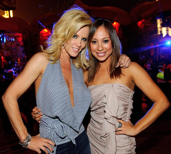 Jenny McCarthy and Cheryl Burke at TAO