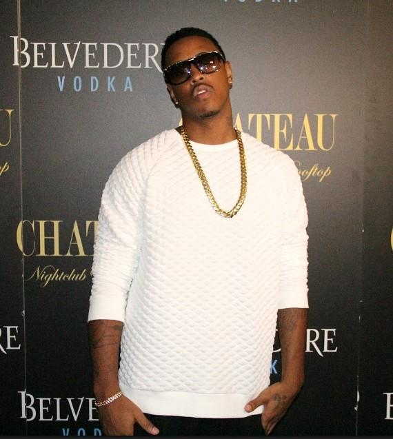 Jeremih on the Red Carpet at Chateau