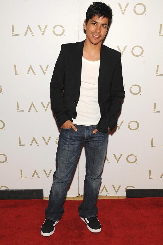 Jeremy Ray Valdez at LAVO