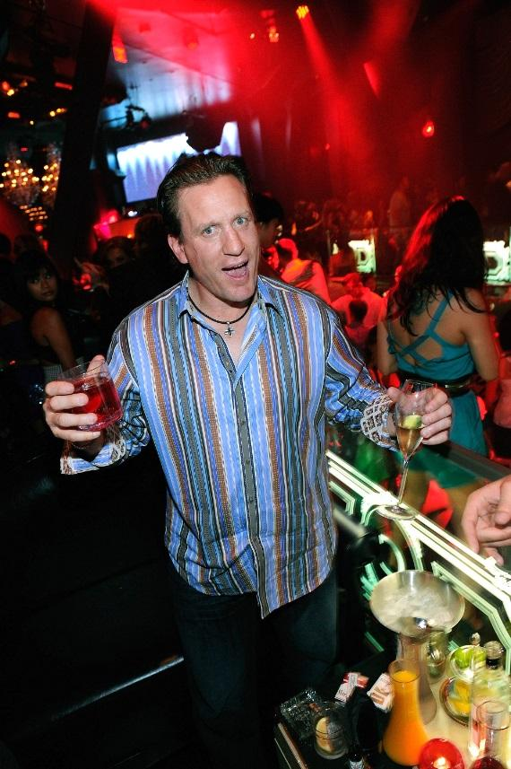 Jeremy Roenick celebrates NHL Pre-Awards Party at Chateau Nightclub & Gardens