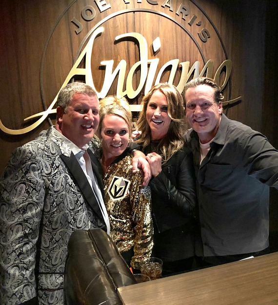 This Past Week Saw Vegas Golden Knights Players Dining in Andiamo Italian Steakhouse