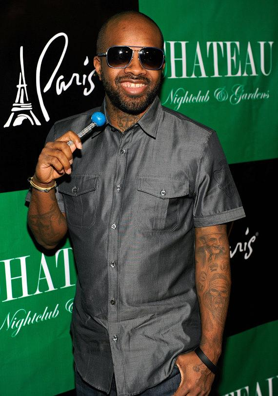 Jermaine Dupri with Sugar Factory Couture Pop