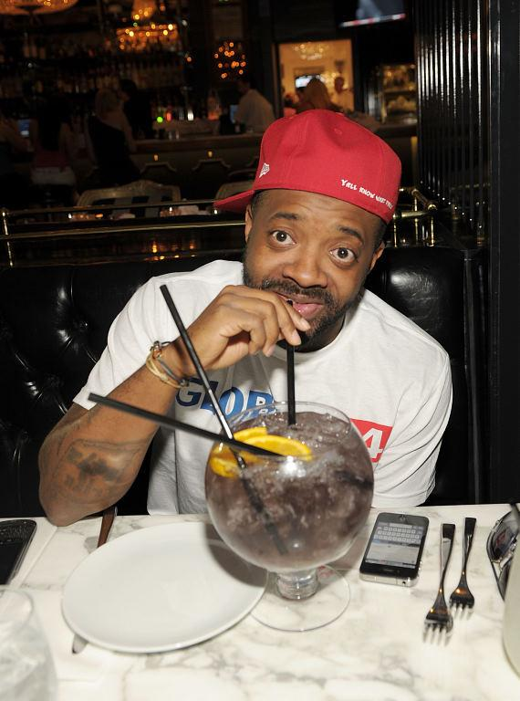 Jermaine Dupri dines at Sugar Factory
