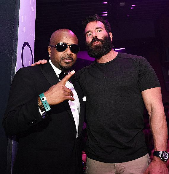 Jermaine Dupri and Dan Bilzerian at Marquee