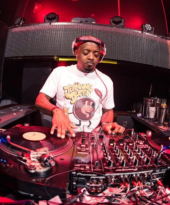 Jermaine Dupri spins at TAO Nightclub in The Venetian