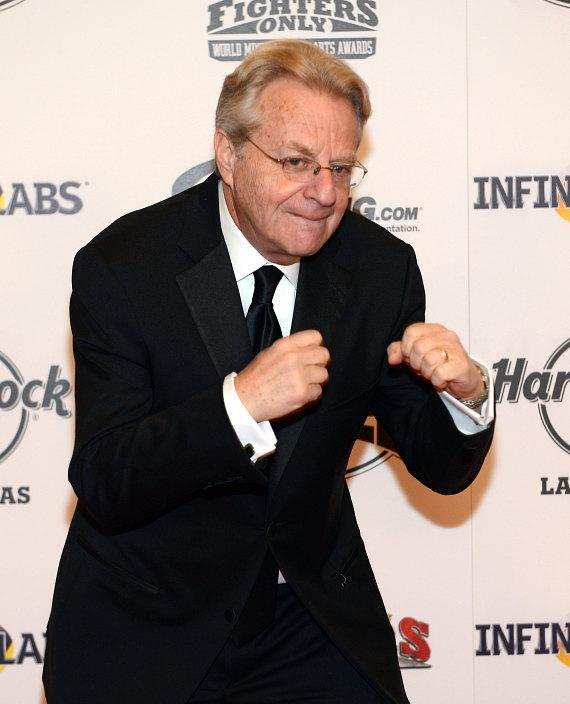 Jerry Springer  at Fighters Only World MMA Awards