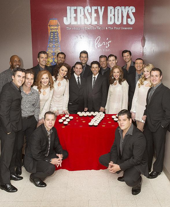 "Smash-Hit Musical ""Jersey Boys"" Celebrates Seven Years on the Las Vegas Strip"