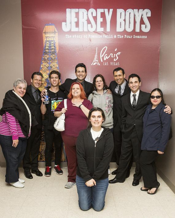 Jersey Boys with Opportunity Village members
