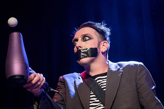 Face Tape performs at Harrah's Las Vegas