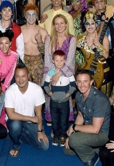 "Jewel attends ""Michael Jackson ONE"" by Cirque du Soleil in Las Vegas"