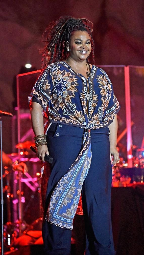 Jill Scott Performs at the Neighborhood Awards Beach Party