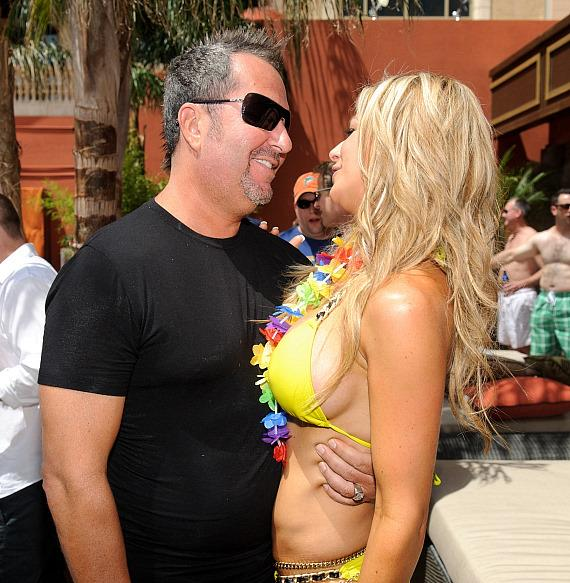 Alexis Bellino of 'The Real Housewives of Orange County' celebrates husband Jim's birthday at TAO Beach