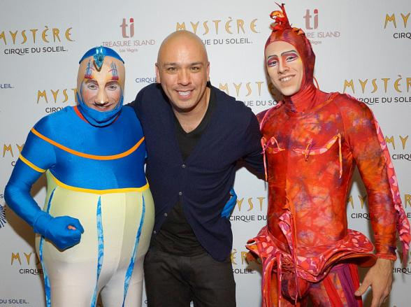 Comedian Jo Koy Attends Mystère by Cirque du Soleil at Treasure Island Las Vegas