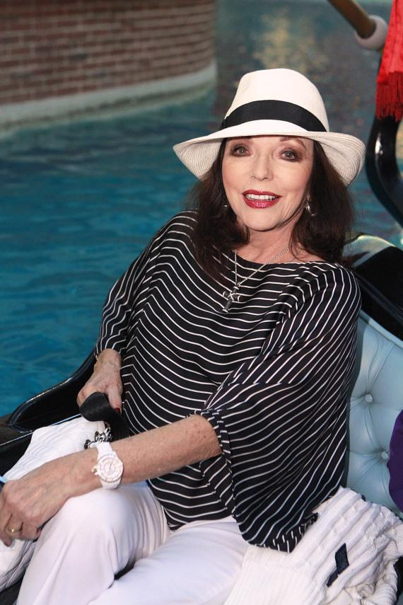 Joan Collins enjoys a Vegas Vacation at The Venetian