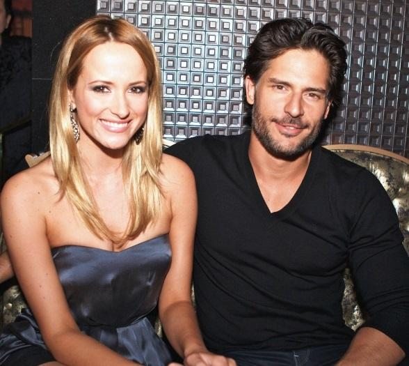 Joe Manganiello and fiancé Audra Marie at Gallery Nightclub at Planet Hollywood Resort & Casino in Las Vegas