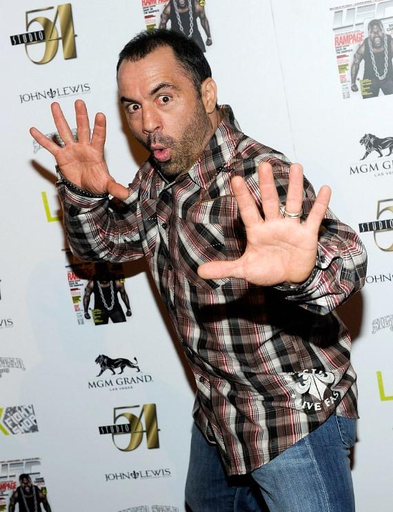 Joe Rogan on Red Carpet at Silver Star Pre-Fight Party at Studio 54