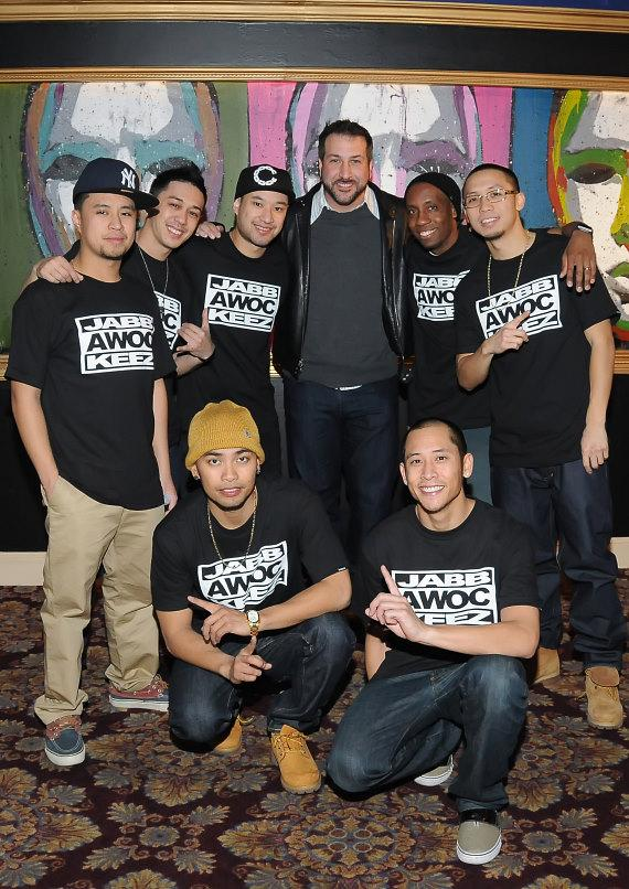 Joey Fatone with JabbaWockeeZ