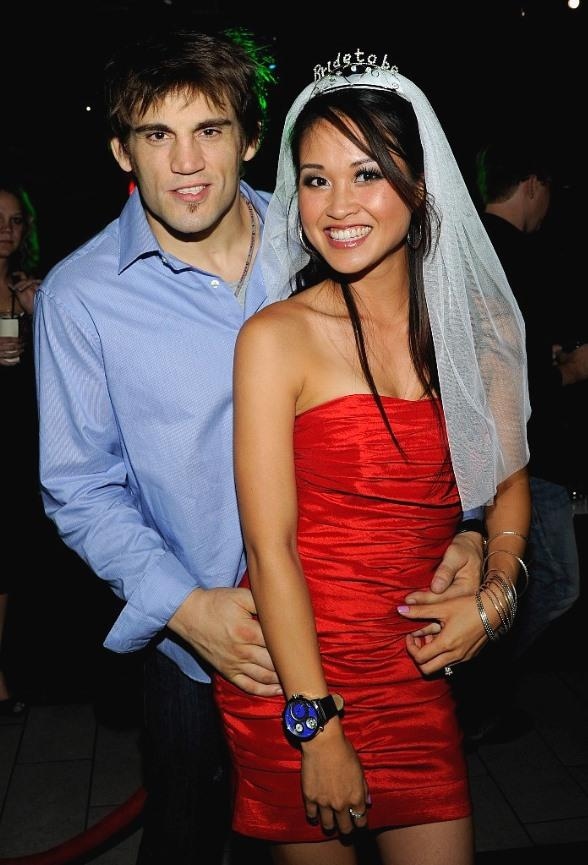 Jon Fitch and Michele Cao