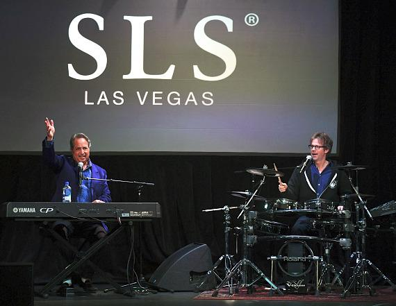 Jon Lovitz and Dana Carvey perform musical numbers at The Foundry at SLS Las Vegas