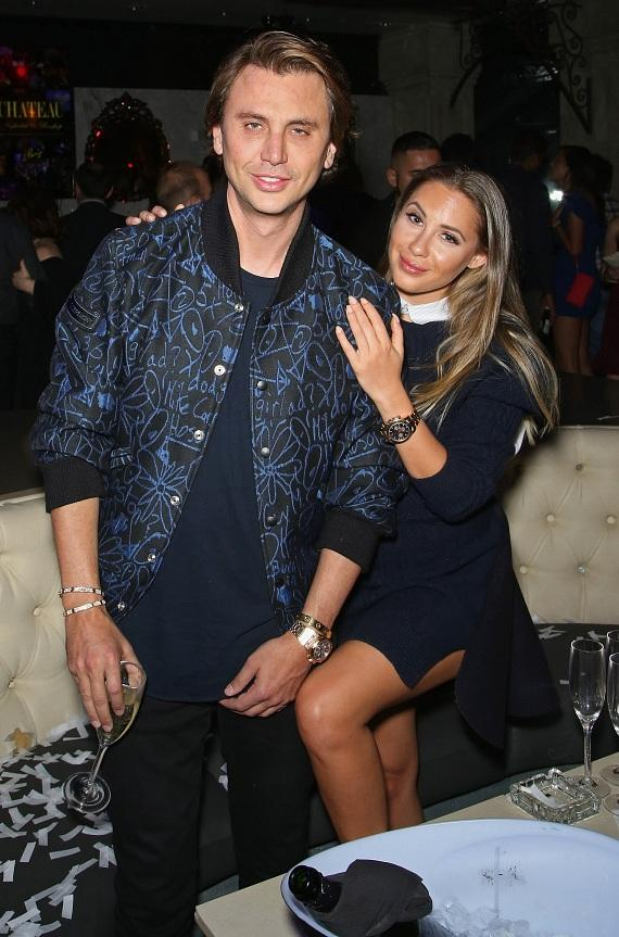 Jonathan Cheban and Anat Popovsky at Chateau