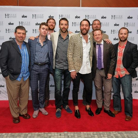 Actor and Comedian Jonathan Kite Parties at Hyde Bellagio