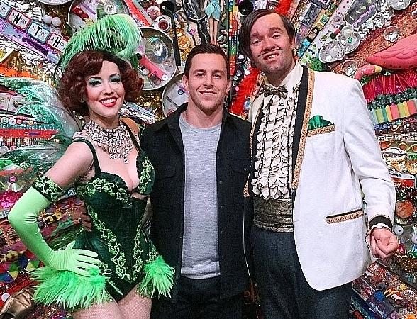 Vegas Golden Knights Forward Jonathan Marchessault Attends ABSINTHE at Caesars Palace in Las Vegas
